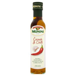 Monini Extra panenský olivový olej s příchutí 250ml, vybrané druhy