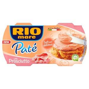 Rio Mare Paté 2 x 84g, vybrané druhy