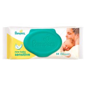 Pampers Sensitive New Baby čisticí ubrousky 54 ks Tamda Foods