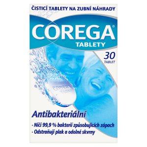 Corega Čistící tablety na zubní náhrady 30 tablet CBA prodejní družstvo