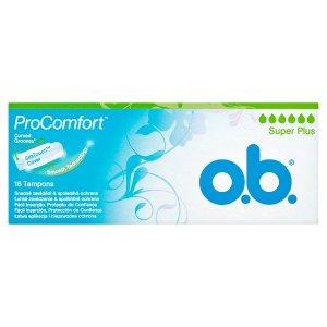 O.B. ProComfort Super Plus tampony 16 ks Teta drogerie