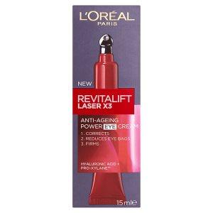 L'Oréal Paris Revitalift Laser X3 oční krém 15ml ROSSMANN
