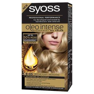 Syoss Oleo Intense barva na vlasy Béžově Plavý 8-05 TOP drogerie