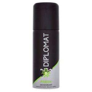 Diplomat Deodorant 150ml, vybrané druhy TOP drogerie