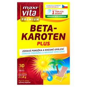 MaxiVita Premium Beta-karoten plus 30 tablet 22,8g