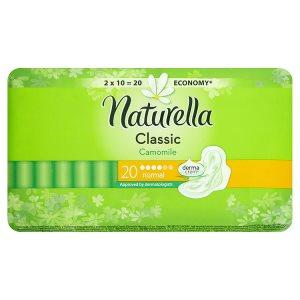 Naturella Classic camomile hygienické vložky normal s jemnou vůní 20 ks Globus
