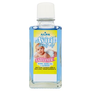 Alpa Aviril Dětský olej s azulenem TOP drogerie
