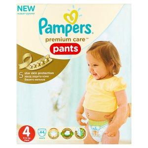 Pampers Premium care Jednorázové plenkové kalhotky 4 maxi 44 ks
