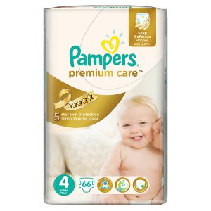 Pampers Premium Care Pleny 4 Maxi 66 ks Billa