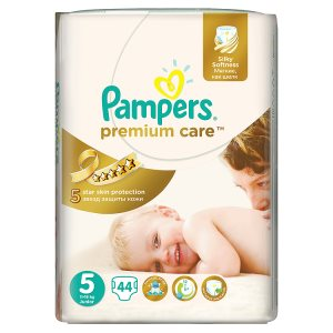 Pampers Premium Care Pleny 5 Junior 44 ks Billa