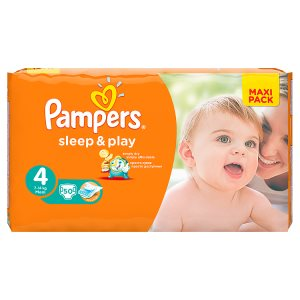 Pampers Sleep&Play Pleny 4 Maxi 50 ks TOP drogerie