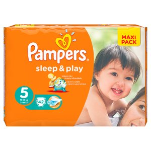 Pampers Sleep&Play Pleny 5 Junior 42 ks ROSSMANN