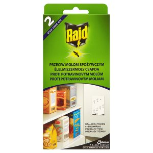 Raid Proti potravinovým molům 2 ks