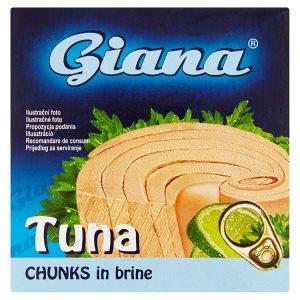 Giana Tuňák kousky 80g, vybrané druhy