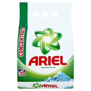 Ariel prací prášek 20 dávek, vybrané druhy ROSSMANN