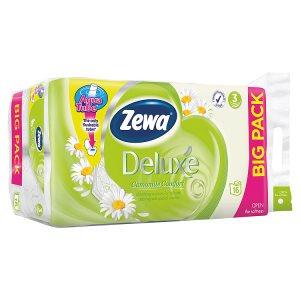 Zewa Deluxe toaletní papír 3-vrstvý 16 rolí, vybrané druhy