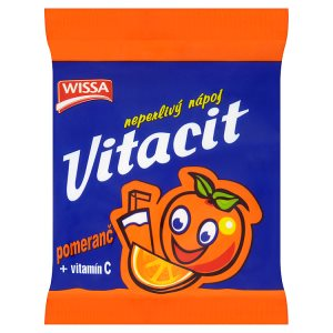 Wissa Vitacit neperlivý nápoj pomeranč 100g