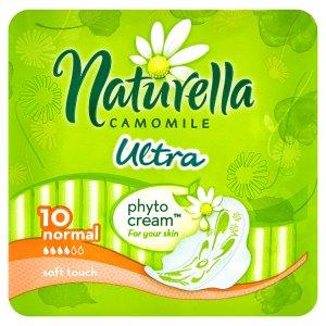 Naturella Camomile Ultra normal hygienické vložky s jemnou vůní 10 ks CBA prodejní družstvo