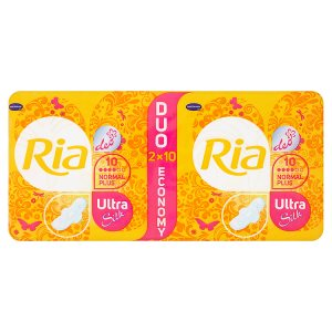 Ria Ultra Normal plus deo ultratenké dámské vložky 20 ks