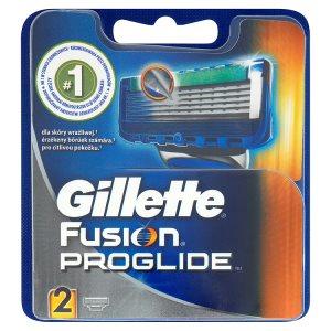 Gillette Fusion ProGlide Náhradní hlavice k holícímu strojku 2 ks Prima Drogerie