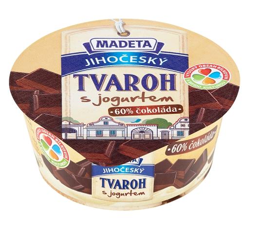 Madeta Jihočeský tvaroh s jogurtem 135g, vybrané druhy