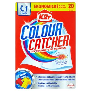 K2r Colour Catcher Prací ubrousky 20 ks Teta drogerie