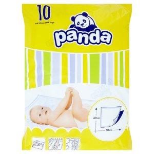 Panda Přebalovací podložky 60 x 60cm 10 ks Albert