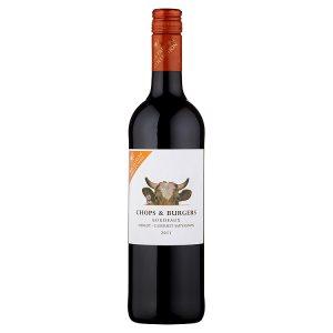 Barton & Guestier Chops & Burgers Bordeaux Merlot - Cabernet Sauvignon červené víno 750ml