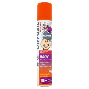 Diffusil Stop Baby Repelent na odpuzování komárů a klíšťat 100ml