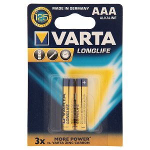 Varta Longlife Alkalické baterie AAA 1,5V 2 ks