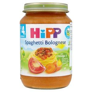 HiPP Bio masozeleninový příkrm 190g, vybrané druhy