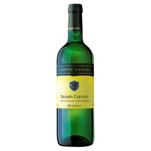 Znovín Znojmo Tramín Červený odrůdové jakostní bílé suché víno 0,75l