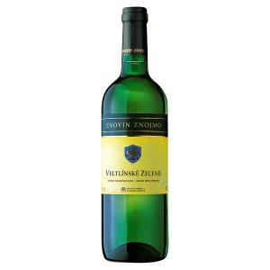 Znovín Znojmo Veltlínské zelené moravské zemské víno suché bílé 0,75l