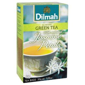 Dilmah Zelený čaj, vybrané druhy 20 sáčků