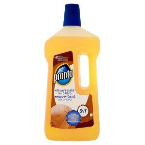 Pronto Mýdlový čistič na dřevo 5v1 750ml dm drogerie markt