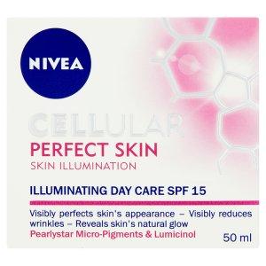 Nivea Rozjasňující denní krém Cellular Perfect Skin s OF 15 50ml Tesco