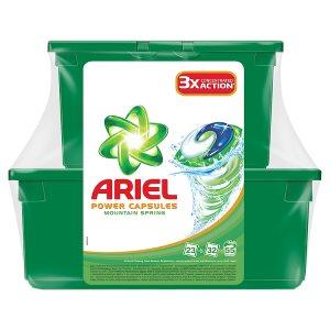Ariel gelové kapsle 55 dávek, vybrané druhy Kaufland