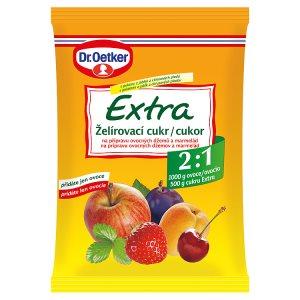 Dr. Oetker Extra želírovací cukr na přípravu ovocných džemů a marmelád 500g