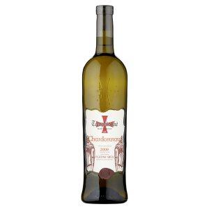 Templářské Sklepy Čejkovice Chardonnay 2009 pozdní sběr bílé suché víno 0,75l