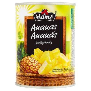 Hamé Ananas v sladkém nálevu 567g, vybrané druhy