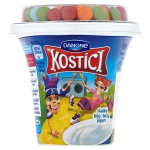 Danone Kostíci Sladký bílý jogurt, vybrané druhy