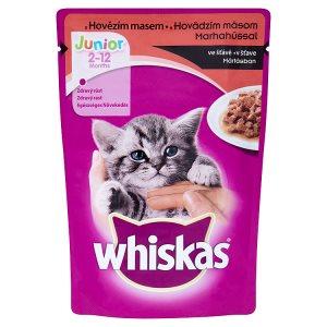Whiskas kapsičky 100g, vybrané druhy