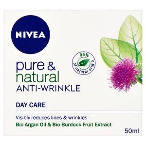 Nivea Pure & Natural Denní krém proti vráskám 50ml