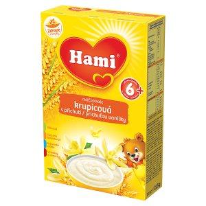 Hami Kaše krupicová s příchutí vanilky 225g Tesco
