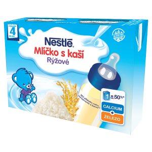 Nestlé Rýžové mlíčko s kaší 2 x 200ml v akci