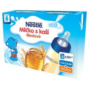 Nestlé Medové mlíčko s kaší 2 x 200ml Albert