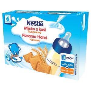 Nestlé Sušenkové mlíčko s kaší 2 x 200ml Albert