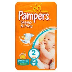 Pampers Sleep&Play Pleny 2 Mini 68 ks Penny Market