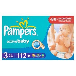 Pampers Active Baby Pleny 3 Midi 112 ks ROSSMANN