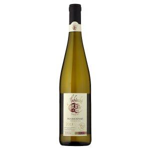 Habánské Sklepy Ryzlink rýnský jakostní víno odrůdové suché bílé 0,75l